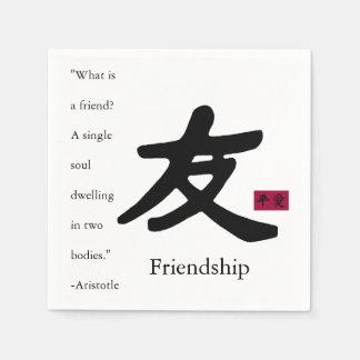 Friendship 1 disposable napkins