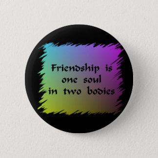 Friendship 2 Inch Round Button