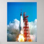 Friendship 7 (Mercury Atlas 6) Launch Poster