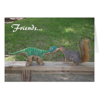 Friendship and nuts card
