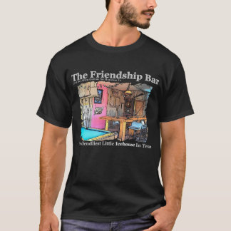 Friendship Bar Black  T-Shirt