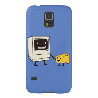 Friendship between computer and cheese galaxy s5 case