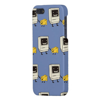 Friendship between computer and cheese iPhone 5 case