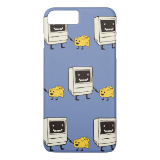 Friendship between computer and cheese iPhone 8 plus/7 plus case