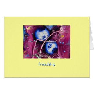 "friendship ""blueprints"" card"