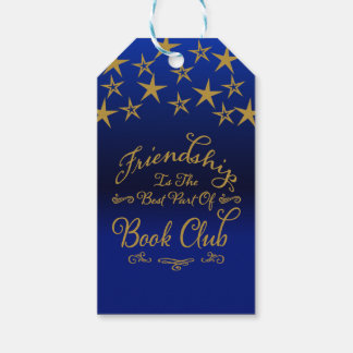 Friendship Book Club Pack Of Gift Tags