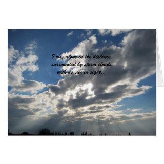 Friendship Card, sentimental Card