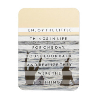 Friendship Enjoy the Little Things Magnet