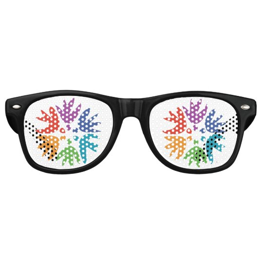 Friendship Force Logo Party Glasses Sunglasses