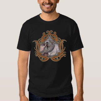 Friendship Gothic Fairy and Owl Fantasy Art T-shirts