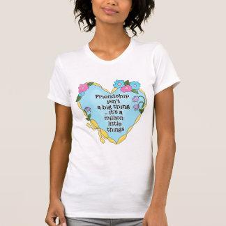Friendship Heart Ladies Casual Scoop Shirt