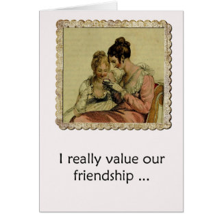 Friendship Humor Edgy Ackerman Vintage Ladies Card