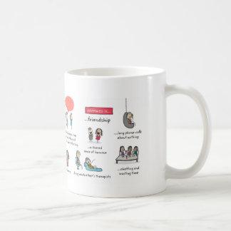Friendship is coffee mug