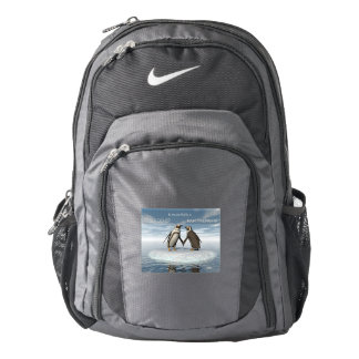 Friendship is essentailly a partnership backpack