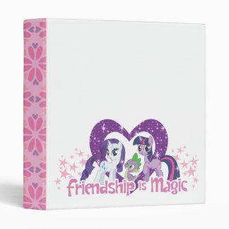 Friendship is Magic Vinyl Binders