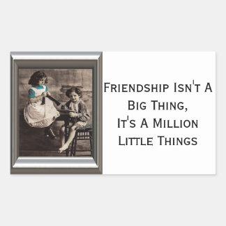 Friendship Isn't A Big Thing