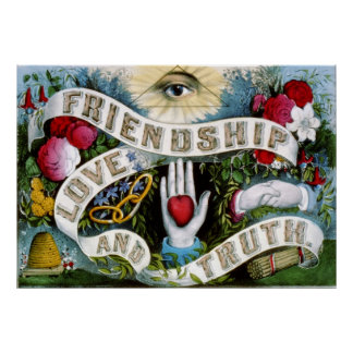 Friendship Love and Truth Poster