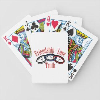 Friendship Love Truth Poker Deck