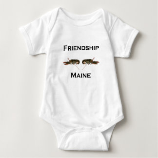 Friendship Maine Lobsters Baby Bodysuit