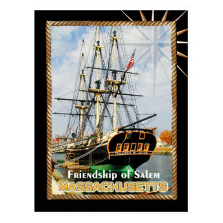 Friendship of Salem, Massachusetts Postcard
