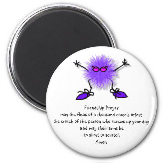 Friendship Prayer 2 Inch Round Magnet
