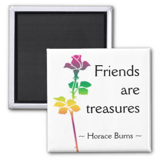 Friendship Quotation - Motivational Quote Magnet