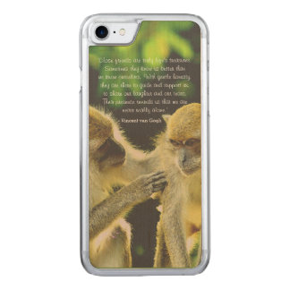 Friendship Quote by Vincent van Gogh Carved iPhone 8/7 Case