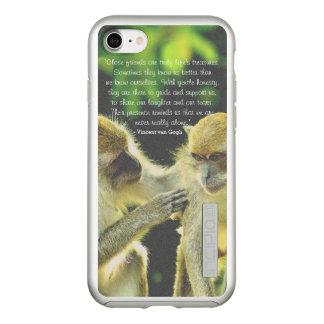 Friendship Quote by Vincent van Gogh Incipio DualPro Shine iPhone 8/7 Case
