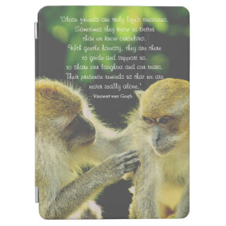 Friendship Quote by Vincent van Gogh iPad Air Cover