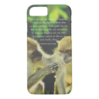 Friendship Quote by Vincent van Gogh iPhone 8/7 Case