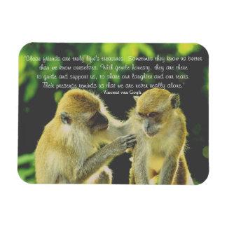 Friendship Quote by Vincent van Gogh Magnet