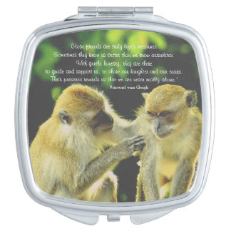 Friendship Quote by Vincent van Gogh Mirror For Makeup