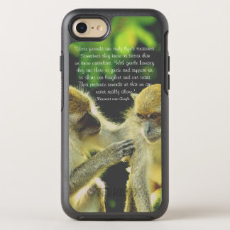 Friendship Quote by Vincent van Gogh OtterBox Symmetry iPhone 7 Case
