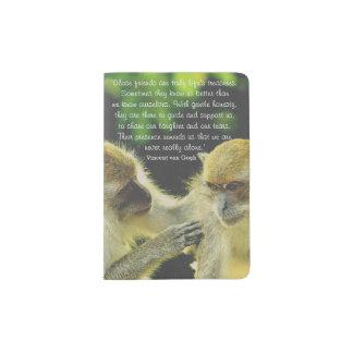 Friendship Quote by Vincent van Gogh Passport Holder