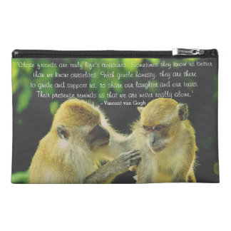 Friendship Quote by Vincent van Gogh Travel Accessory Bag