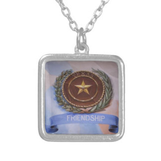 Friendship - The Texas Way Silver Plated Necklace