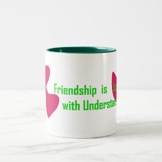 Friendship Two-Tone Coffee Mug