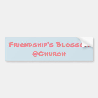 Friendship's Blossom @Church sticker
