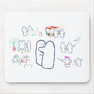 Frienship Fun Mouse Pad