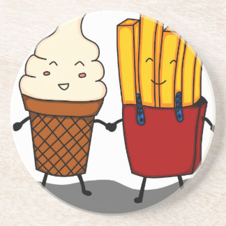 Fries and Ice Cream Coaster