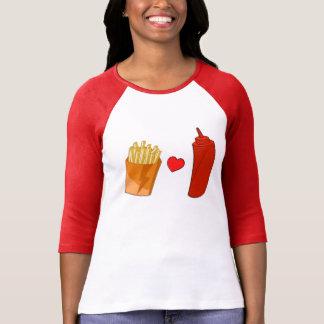 Fries and Ketchup - Junk Food Shirt