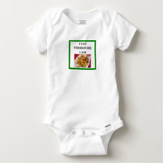 fries baby onesie