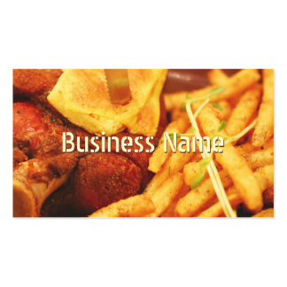 Fries Bar & Grill Business Card