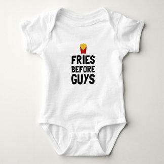 Fries Before Guys Baby Bodysuit