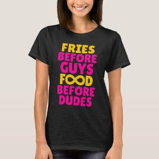 Fries Before Guys Food Before Dudes Infinity Tee