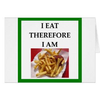 fries card