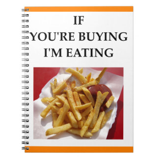 fries notebooks