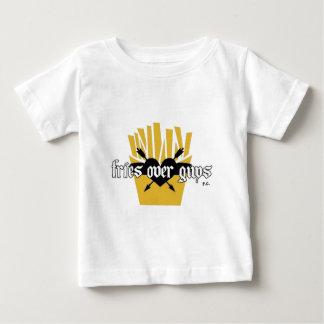 Fries Over Guys Slogan Baby T-Shirt