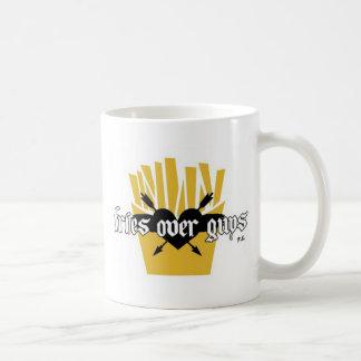 Fries Over Guys Slogan Coffee Mug