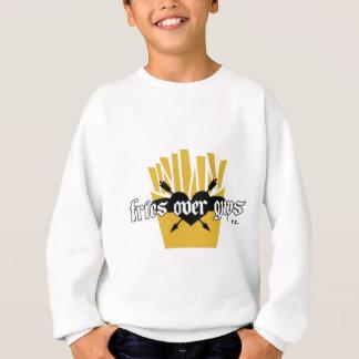 Fries Over Guys Slogan Sweatshirt
